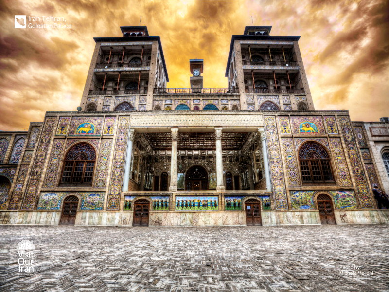 Golestan Palane in Tehran