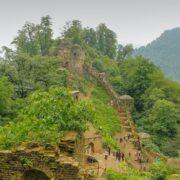 Rudkhan Castle in Hyrcanian Forests