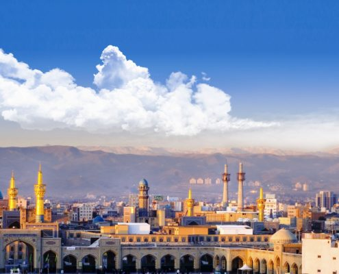 Ziyarat Mashhad holy shirine