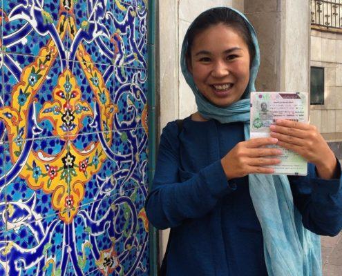 guide for female traveller in Iran