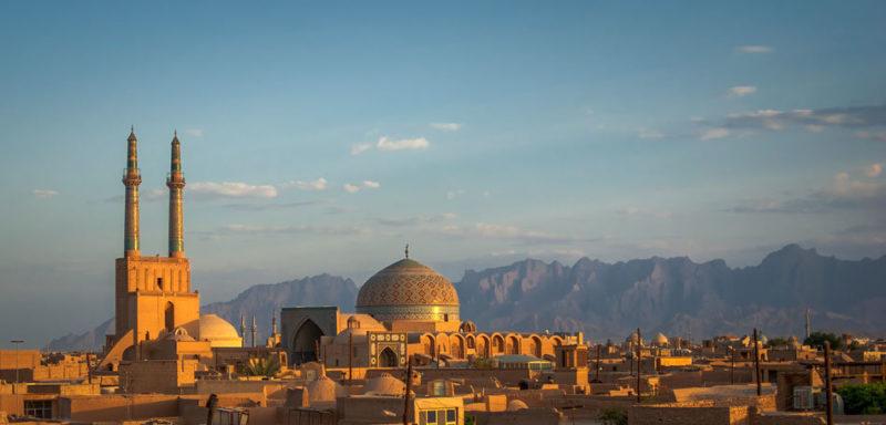Yazd historical city
