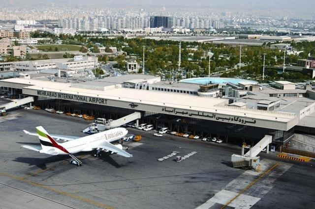Mehrabad airport in Iran domestic flights
