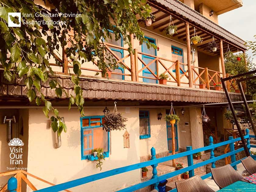 Sasang Eco-lodge with beautiful traditional balcony
