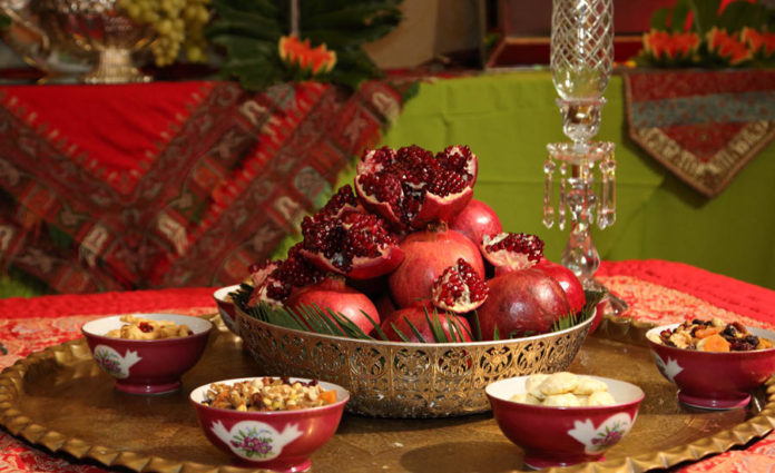 Yalda night, Iranian holiday