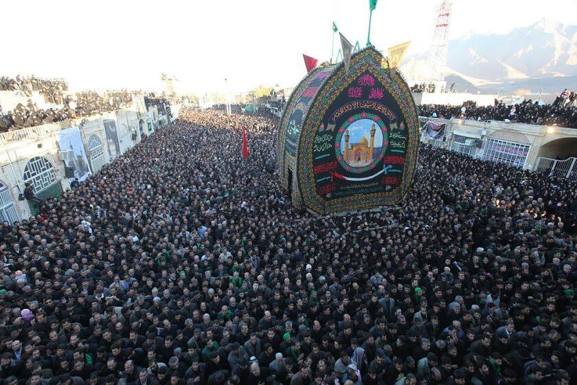 Yazd Ashura rituals