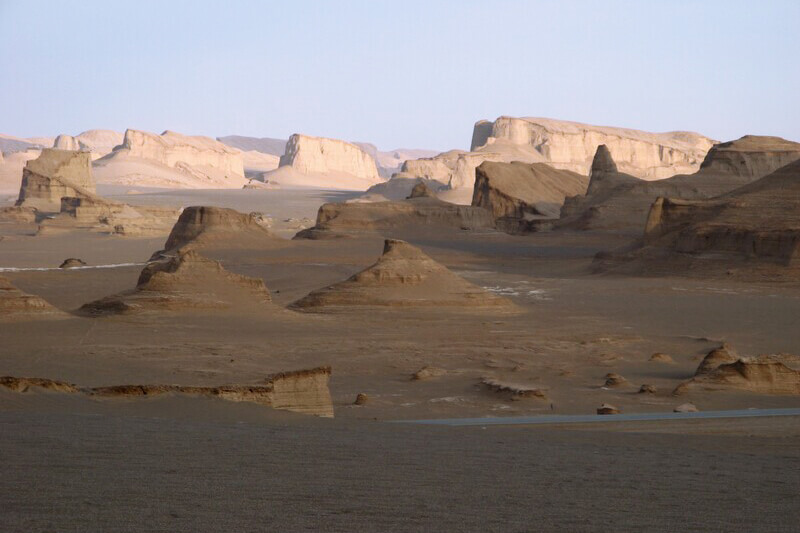 Lut desert in central Iran