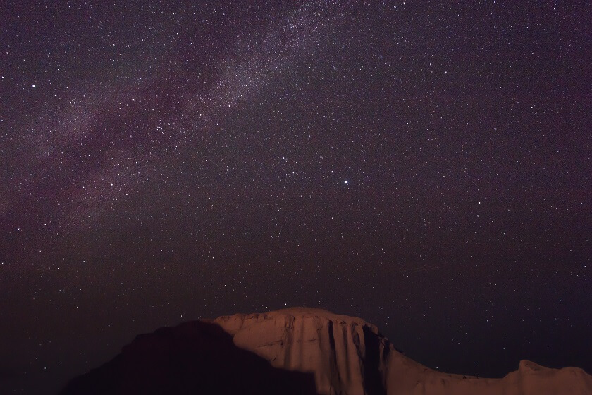 Shahdad desert night Iran stars and the universe