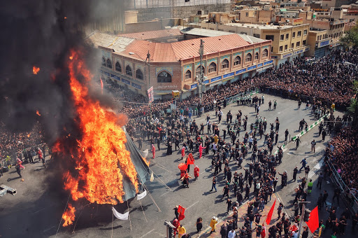 Passion play in Ashura