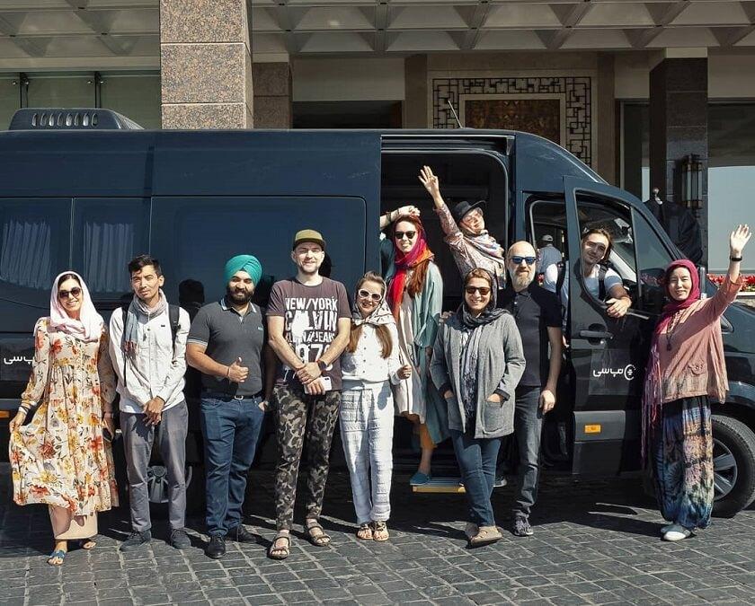 Iran fam trip and tour