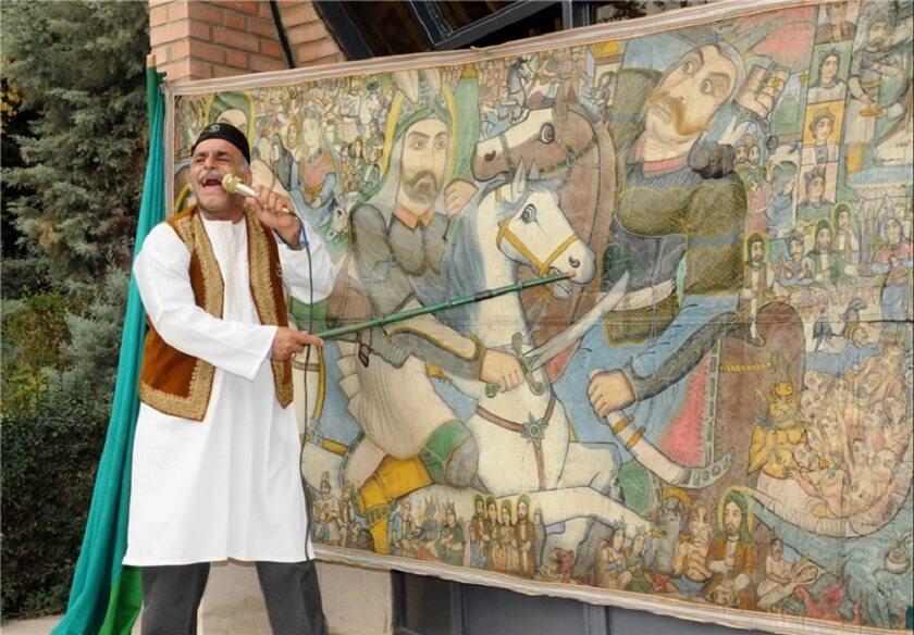 Naghali and narration in Iran