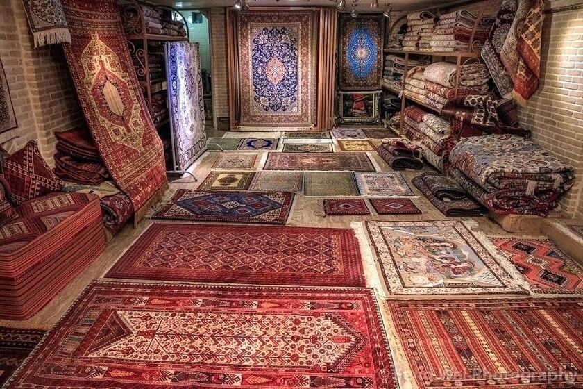 Tehran's carpet bazaar