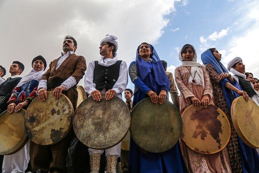 Sanandaj Daf music instrument UNESCO