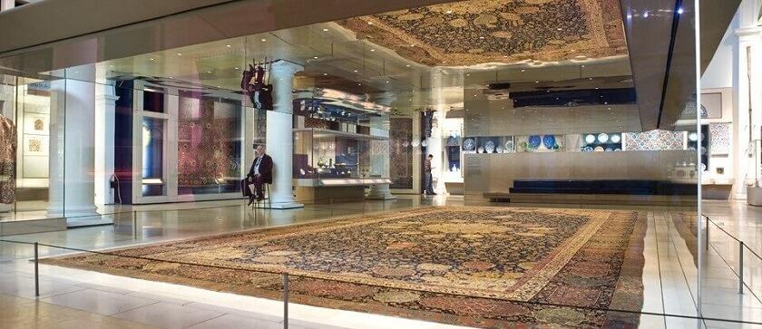 the hunting carpet Persian rug