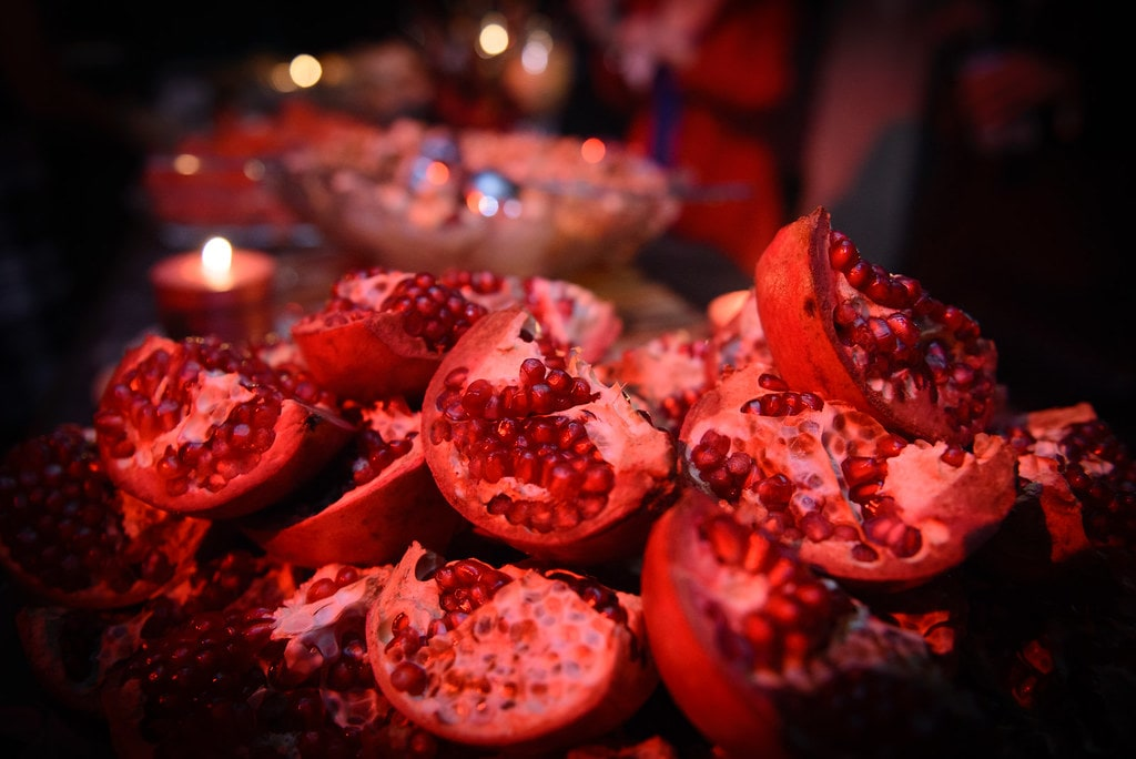 Yalda and red; the color of the celebration-min