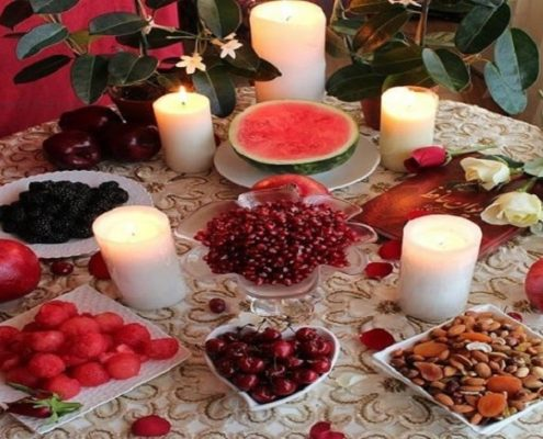 Why Yalda? Red is the color