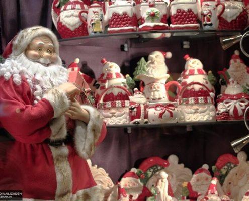 Baba Noel in Iran