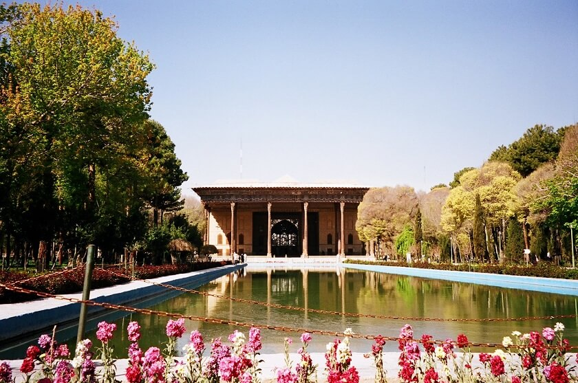 Forty Pillars Palace in Isfahan