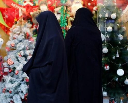 other cities of Iran during Christmas