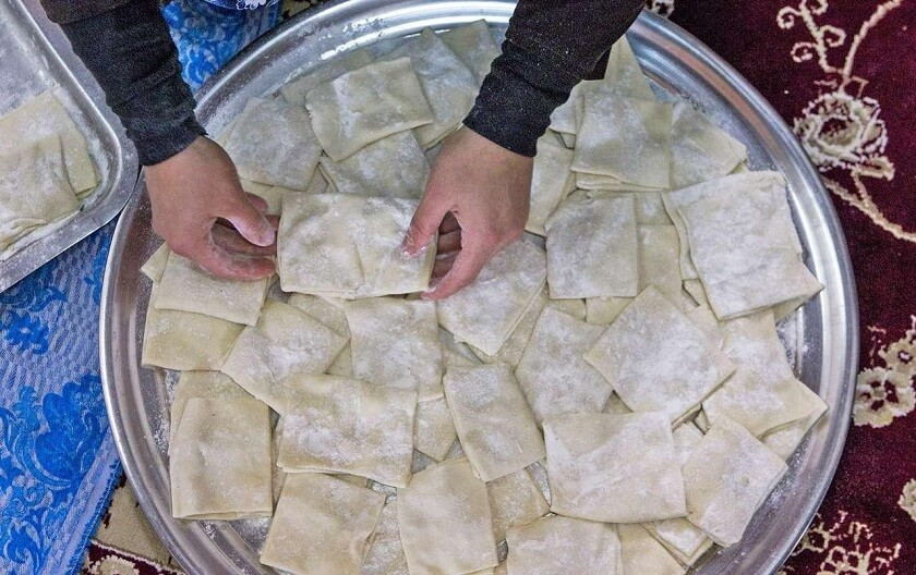 Dandeko Halva Iranian snack