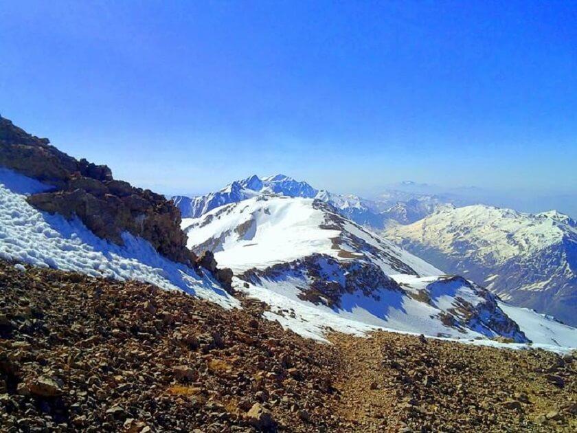 Dena mountain in Iran