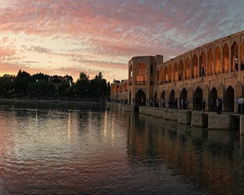 Bridge of Khaju in Isfahan