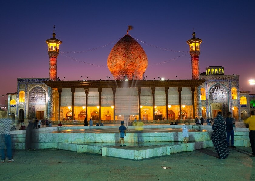 Shah Cheragh Shrine in Shiraz