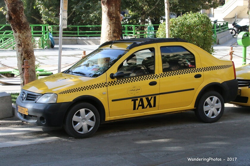Isfahan transportation Taxi