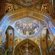 Vank cathedral in Jolfa isfahan