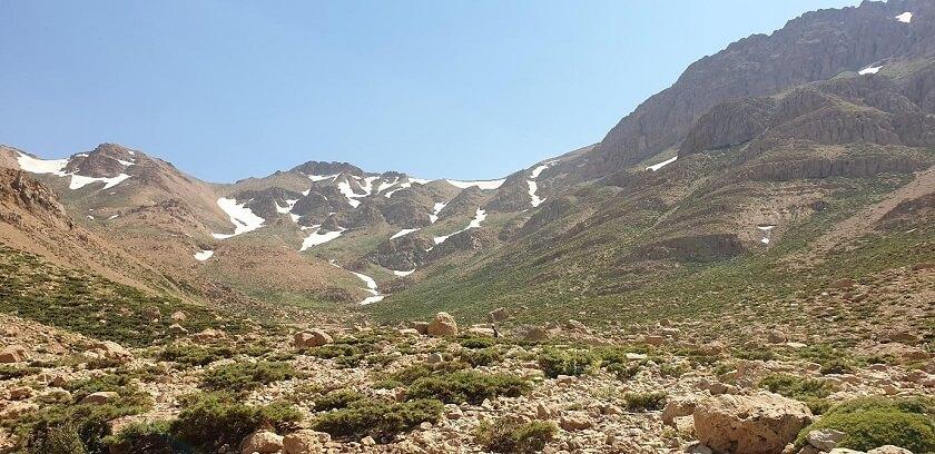 Zardkouh mountain in Iran