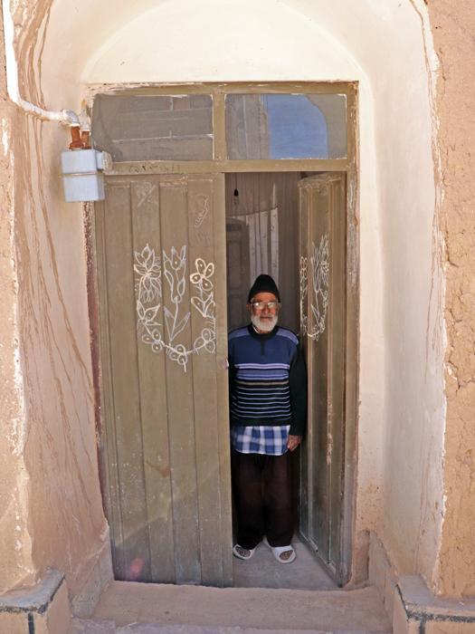 saffron farmer in iran