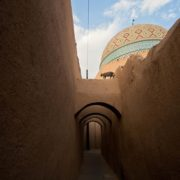 Fahadan Neighborhood in the old city of Yazd