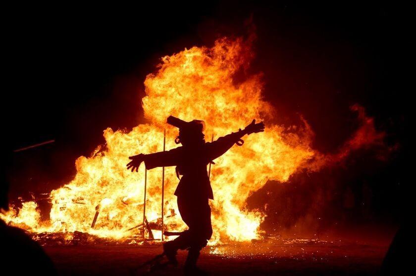Charshanbeh Soori Fire