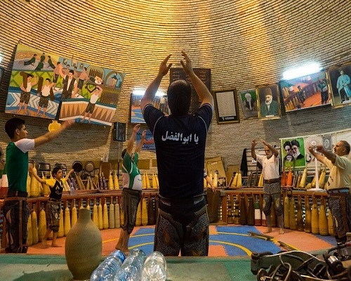 Saheb Al-Zaman Zurkhaneh in Yazd