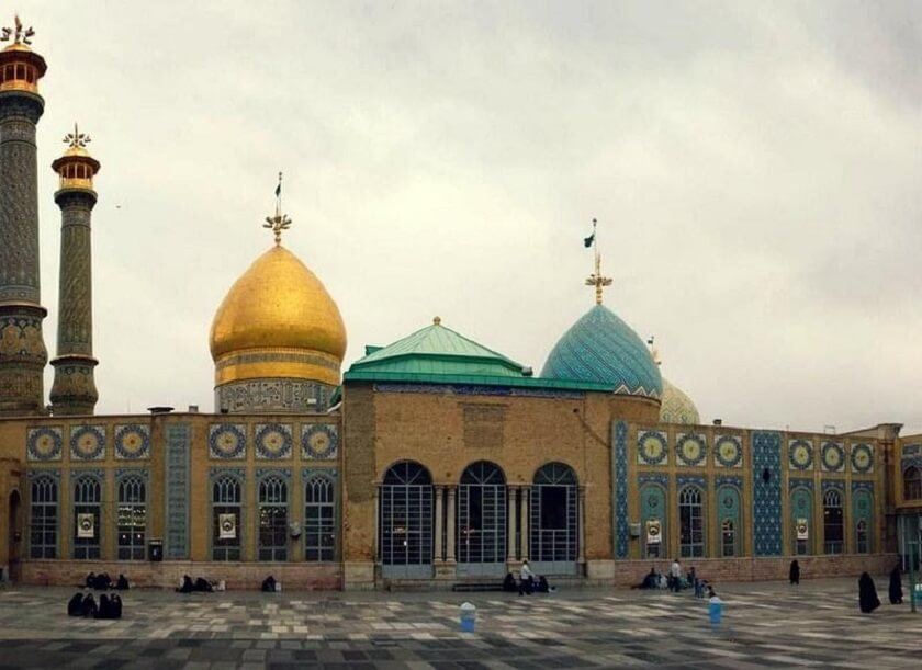 Shah Abdol Azim Mosque in Iran