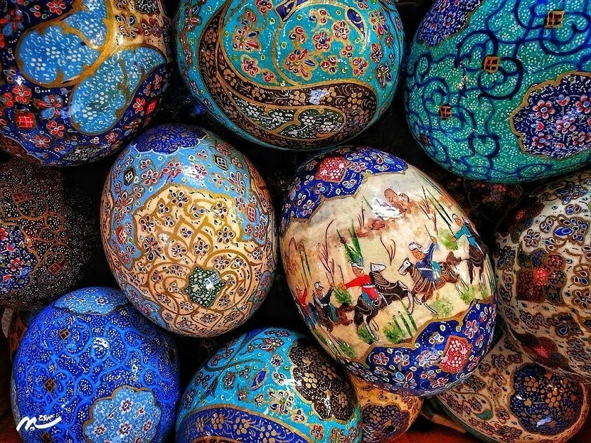 Colored Eggs and Nowruz