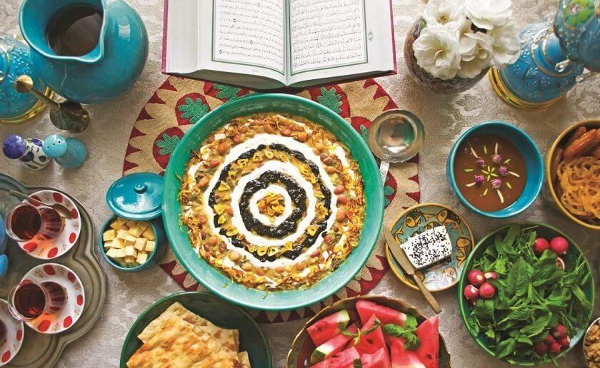 Iranian Food in Ramadan