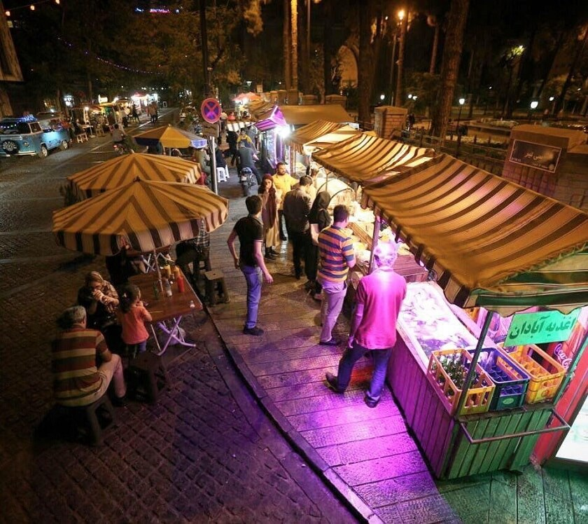 Ramadan Nightlife in Iran
