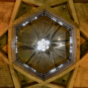 Inside the Azadi Tower in Tehran