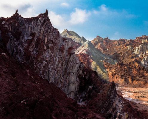 Rainbow Valley in Hormuz