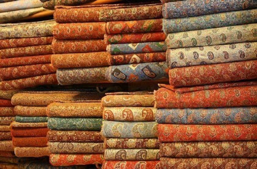 Termeh in Yazd's Bazaar