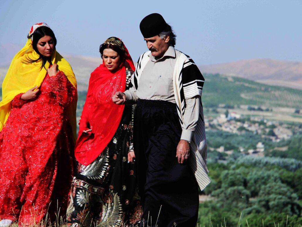 The Bakhtiari national costume of Iran