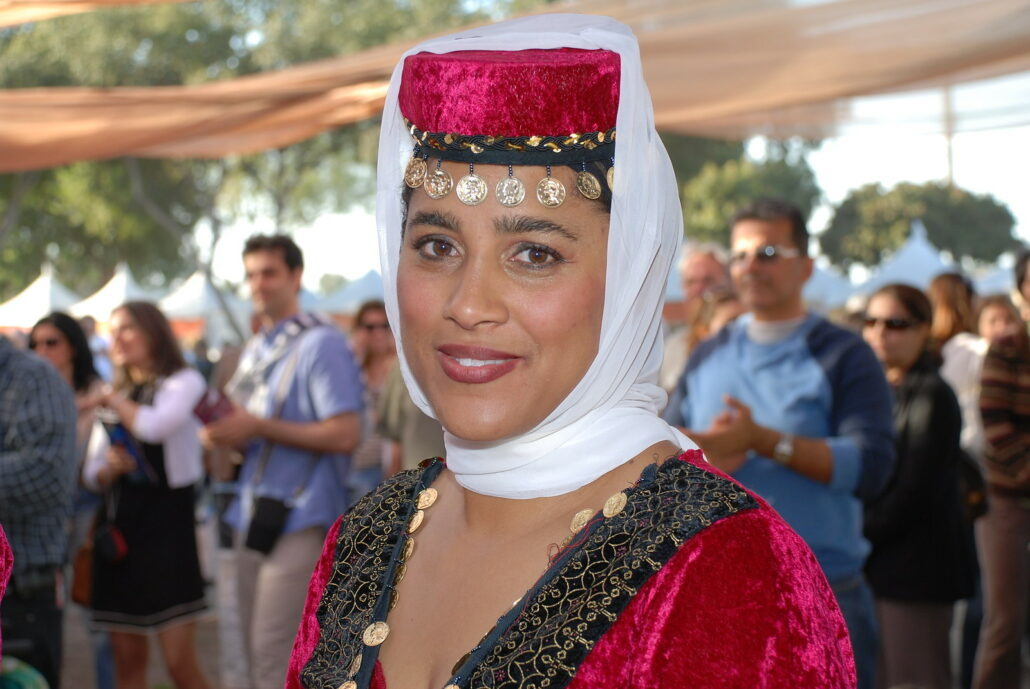 A Woman in Azari Costume