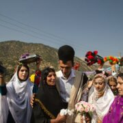 Bakhtiari Nomads in Local Costumes