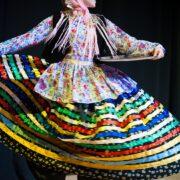 Gilacki Woman in Local Costume