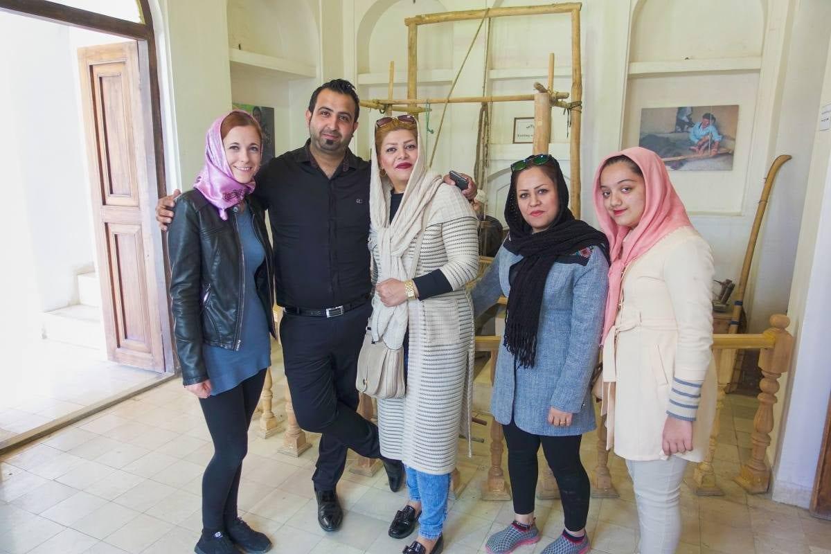 Iranian's Hospitality in Farsi
