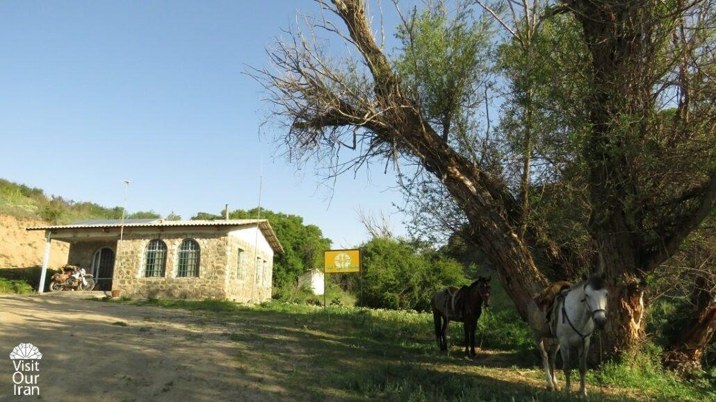 Almeh Conservation Camp in Golestan National Park