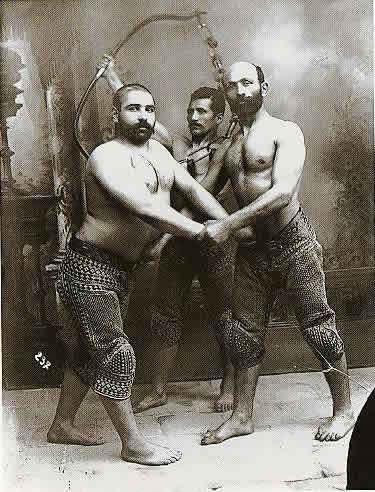 Ancient Iranian athletics