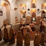 Pahlevani and zurkhane rituals
