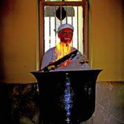 The Fire inside Adrian Zoroastrian Temple