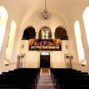 Inside Saint Mary Church of Tehran